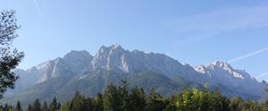 Panorama in Grainau